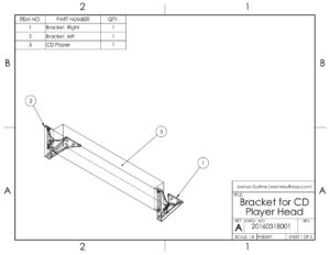 Assem - Bracket for Church CD 1